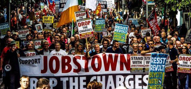 Irlanda –  Los juicios comienzan …   #JobstownNotGuilty