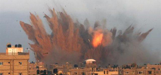 Franja de Gaza – ¡Terminar el derramamiento de sangre!