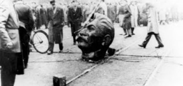 """La revolución húngara de los """"consejos obreros"""" de 1956"""