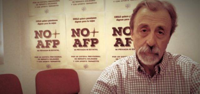 Luis Mesina: «Los trabajadores aspiramos a un sistema de reparto»