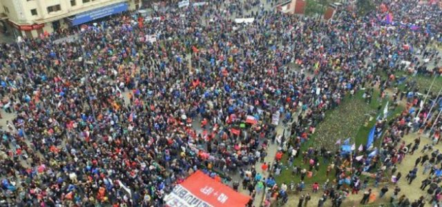 Chile cambió: Ahora vamos hacia el paro nacional!