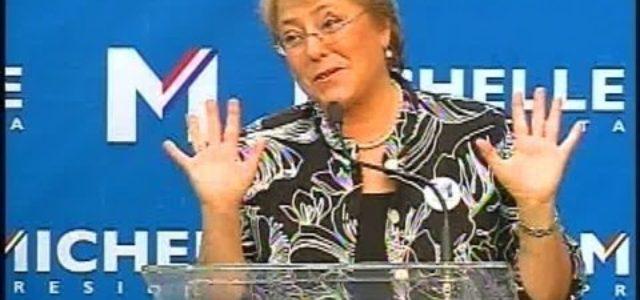 Chile: El plan del gobierno de Bachelet para frenar el movimiento social