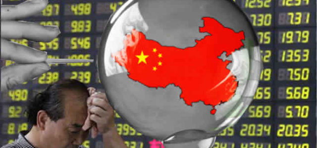 Crisis de China provoca el pánico en los mercados globales