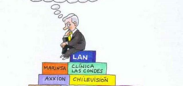 Chile: Piñera declaró el 1% de su fortuna
