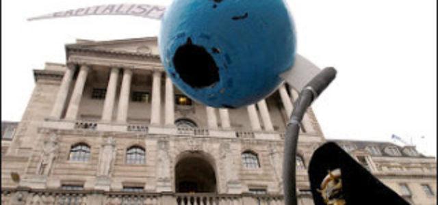 Recesión en Gran Bretaña: Rabia y amargura hacia los financieros