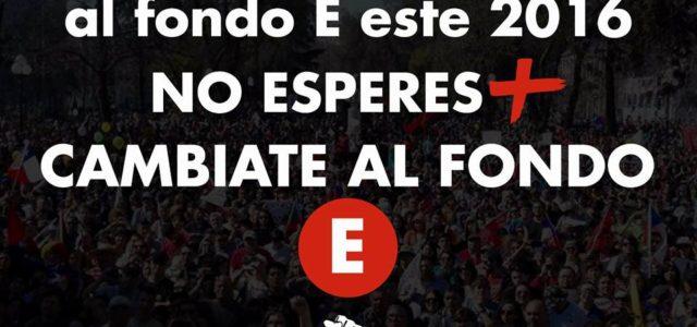 """Chile – Comenzamos la campaña de """"Cámbiate al FONDO E"""