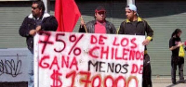 Chile: El salario mínimo que necesitamos los trabajadores