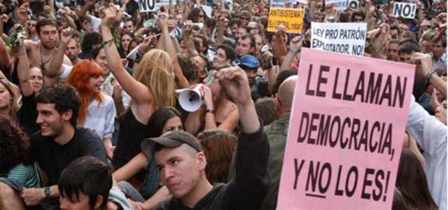Reforma o revolución en el estado español