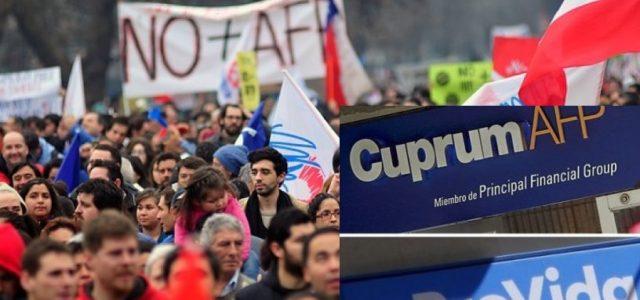 Chile – ¡ AFPs de capitales norteamericanos Cuprum y ProVida en la mira! Se inicia campaña de desafiliación masiva
