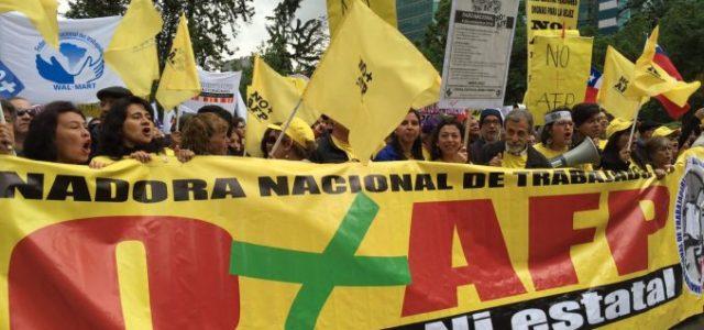 Chile – No+AFP apuesta por presión ciudadana para cambiar el sistema de pensiones
