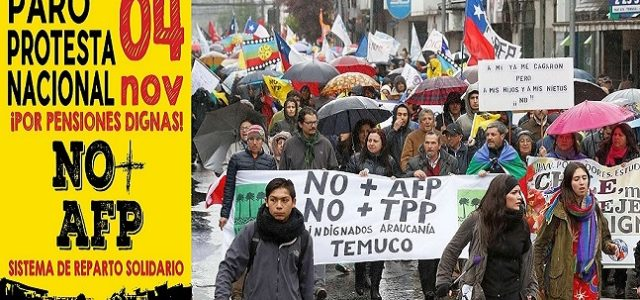 Chile – Video Convocatoria del Coordinador de Trabajador@s NO+AFP al Paro Protesta del 4 de nov
