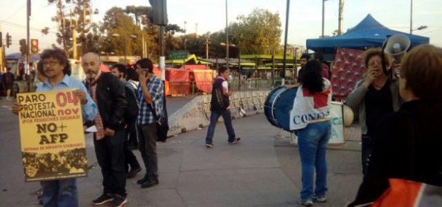 Chile: Jornadas de agitación No + AFP