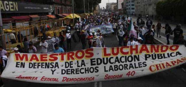 México: La lucha social arrincona al gobierno de Peña Nieto