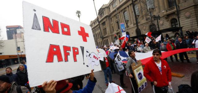 No Más AFP : Tríptico informativo