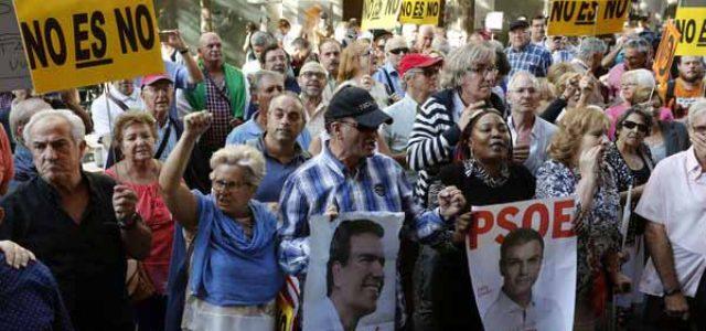 Estado Español: Pedro Sánchez dimite, pero los golpistas se desenmascaran