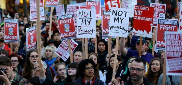 EEUU:  NECESITAMOS RESISTENCIA MASIVA CONTRA TRUMP Y UN PARTIDO DEL 99%