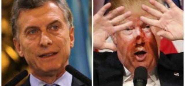 Tres personajes: Donald Trump,  Sebastian Piñera y Mauricio Macri: