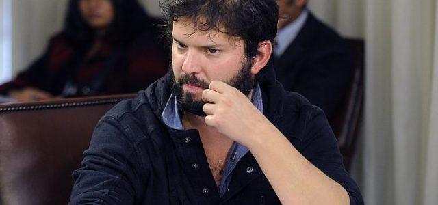 """Chile – Gabriel Boric: """"Seguiremos apoyando a los trabajadores aunque nos procesen"""""""