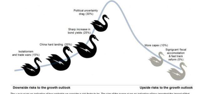 Los cuatro cisnes negros que amenazan al mercado en los próximos meses