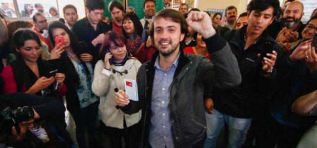 """Chile – Jorge Sharp: """"La nueva izquierda necesita voluntad de coalición para derrotar al duopolio"""""""