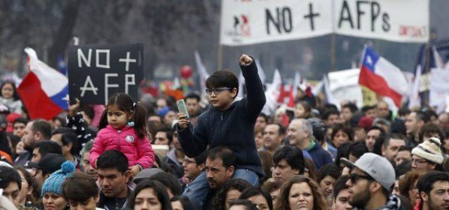 Lanzamiento de propuesta de No+AFP de sistema de seguridad social para Chile