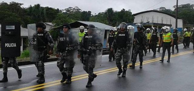 Ecuador – Comunidad indígena Nankints enfrentada a multinacional china y al gobierno