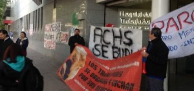 Chile – Primera negociación en Centro Médico Hospital del Trabajador termina en huelga