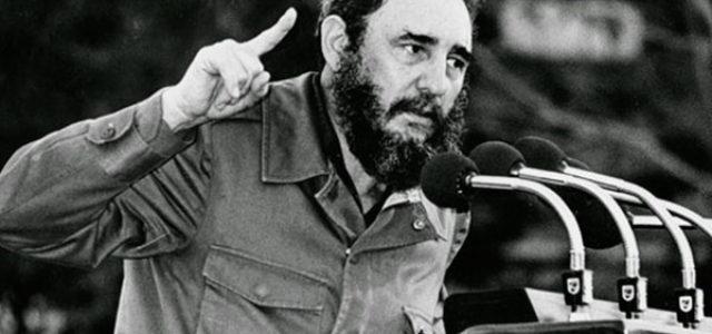 Fidel Castro fue el verdadero Espartaco del siglo XX'