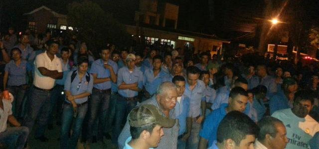 HONDURAS.- ¡¡Repudiemos la represión y criminalización de la lucha estudiantil en la UNA!!