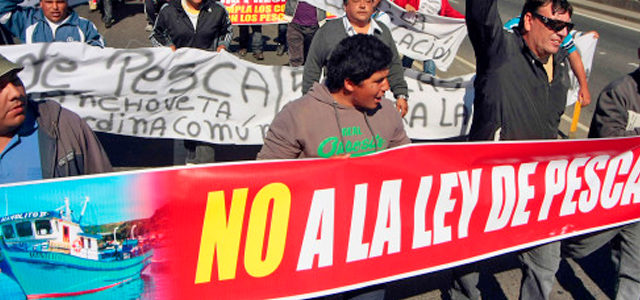 Chile – Gobierno utilizará informe de la FAO para maquillar corrupta Ley de Pesca