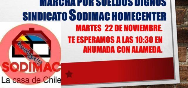 """Chile – Huelga Homecenter: """"Unidos hasta el fin, solo así venceremos"""""""