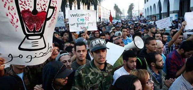 Marruecos: Protestas de masas después del asesinato de un vendedor de pescado