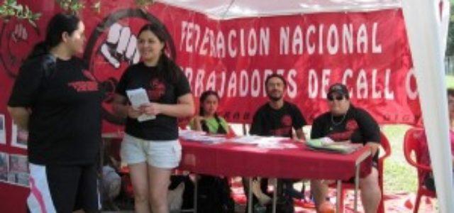 """Chile – Tamara Muñoz: """"El trabajo en call center es esclavizante"""""""