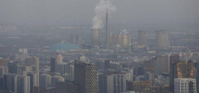 China padece nuevo episodio de gran contaminación