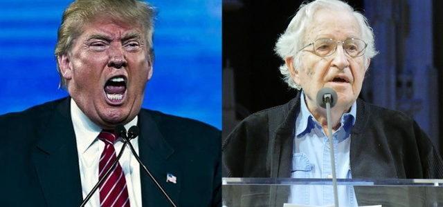 EEUU – Noam Chomsky: la victoria de Trump evoca la de Hitler y la expansión del fascismo en Europa