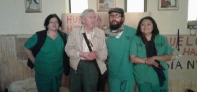 Chile – Hospital de Concepción: 16 días en huelga de hambre por despidos luego del paro