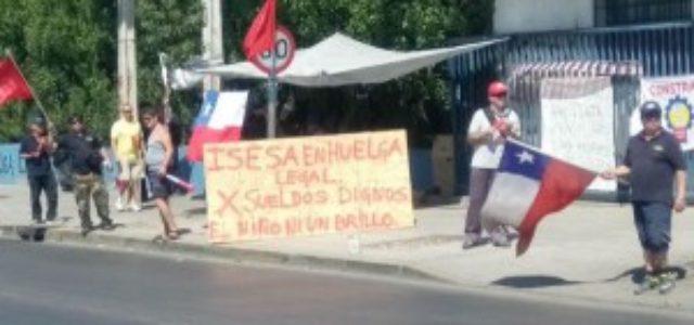 Chile – 23 días de huelga en Isesa: Empresa ofrece $0 de aumento en sus salarios