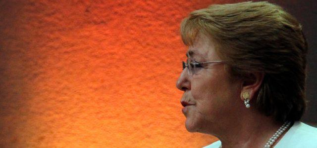Chile –  Bachelet: 'Para no verme más'