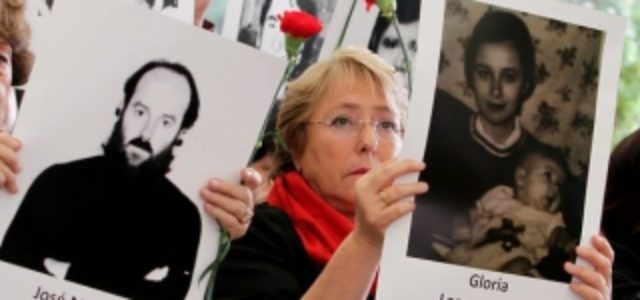Chile – La soterrada ruptura de las asociaciones de DD.HH con Bachelet