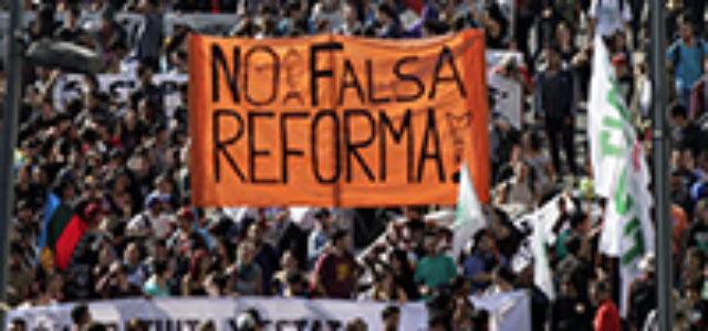 Chile – Una verdadera contra-reforma