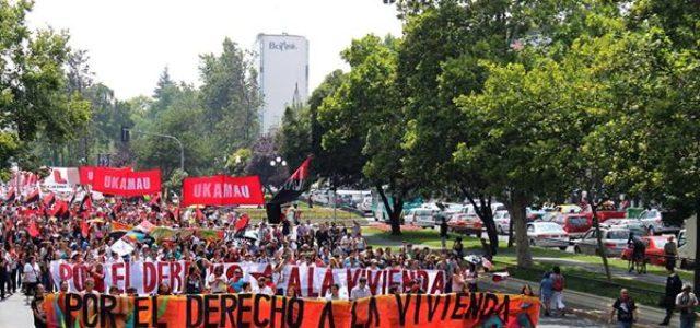 Chile – Ukamau: Marcha por el derecho a la dignidad . Region Metropolitana