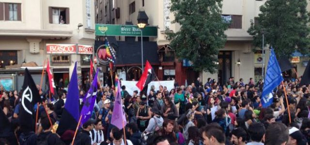 Chile – Wallmapu – Marcha en Santiago para exigir libertad a machi Linconao