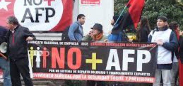 Chile: NO + AFP Concepción convoca movilización el 10 de diciembre