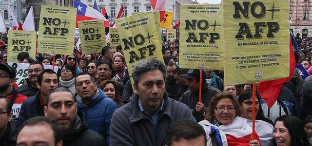 Chile – Luis Mesina presenta Propuesta de NO + AFP