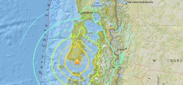 Chile – Terremoto 7,6° en el sur de Chiloé: Cancelan estado de precaución ante Tsunami y evacuación preventiva del borde costero