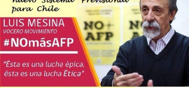 Chile – Luis Mesina visitará Valparaíso para presentar propuesta de nuevo sistema previsional