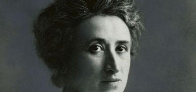 15 enero:  Asesinato de Rosa Luxemburgo