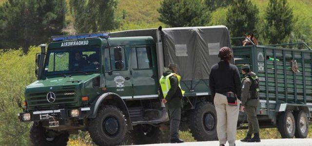 Argentina / Wallmapu – Policia Argentina realiza violento allanamiento a comunidad Mapuche que resiste contra Benetton