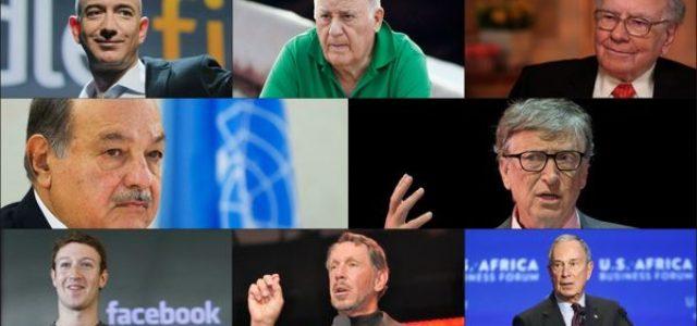 Capitalismo/ 8 personas (hombres) poseen la misma riqueza que 3.600 millones de personas pobres [Oxfam – Informe]