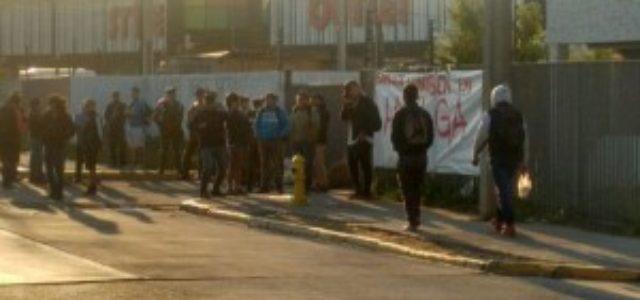 """Chile – Huelga Luniben: """"Ha sido importante el apoyo de las organizaciones populares"""""""